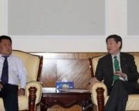 Н.Батцэрэг сайд  БНХАУ-ын ӨМӨЗО-ны Хянган аймгийн Ардын засгийн газрын төлөөлөгчдийг хүлээн авч уулзлаа
