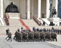 Монгол Улсын Ерөнхийлөгч, Зэвсэгт хүчний ерөнхий командлагч Х.Баттулгад хүндэтгэл үзүүлэх цэргийн ёслолын жагсаал боллоо