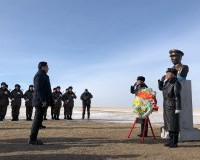 Монгол Улсын Ерөнхий сайд У.Хүрэлсүх Халх гол суманд ажиллав