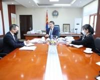 Монгол улсаас бүгд найрамдах Энэтхэг улсад суух элчин сайдыг хүлээн авч уулзлаа