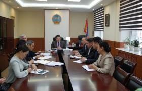 Г.Шийлэгдамба Монголын эм зүйн байгууллагуудын нэгдсэн холбооныхныг хүлээн авч уулзлаа