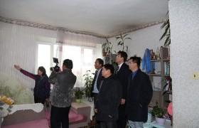 Хан-Уул дүүргийн 34,35 дугаар байрны нөхцөл байдалтай газар дээр нь танилцлаа