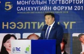 """Н.Цэрэнбат: МБХ-той хамтран """"Монголын ногоон санхүүгийн корпораци"""" байгуулах бэлтгэл ажиллагааг ханган ажиллаж байна"""