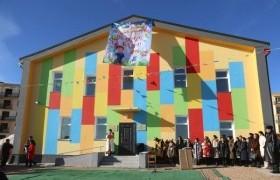Сайншанд сумын Зүүнбаян багт 50 хүүхдийн цэцэрлэг ашиглалтад орлоо