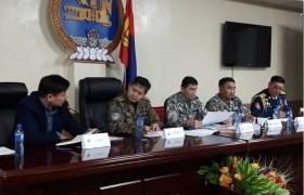 ОБЕГ-ын дарга, хошууч генерал Т.Бадрал орон нутагт ажиллаж байна