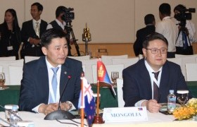 Монголын парламентын төлөөлөгчид Ази, Номхон далайн орнуудын парламентын чуулганы 27 дугаар хуралдаанд оролцож байна