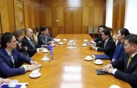 Европын сэргээн босголт хөгжлийн банкны Төв Азийн бүсийн удирдлагуудтай уулзлаа
