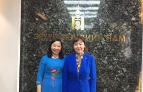 Элчин сайд хатагтай Доан Тхи Хыөнг-ийг хүлээн авч уулзлаа
