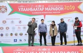 """""""Улаанбаатар марафон-2019"""" олон улсын гүйлтийн тэмцээн боллоо"""