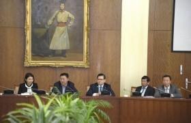 Монгол Улсын Үндсэн хуульд оруулах нэмэлт, өөрчлөлтийн төслийг хоёр, гурав дахь хэлэлцүүлэгт бэлтгэх үүрэг бүхий ажлын хэсэг хуралдав