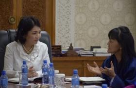 НАМЭХ-ны эмэгтэйчүүд Бутаны Хаант улсын төлөөлөгчдийг хүлээн авч уулзлаа