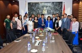 Г.Баясгалан Монгол Улсын Засгийн газрын Хүндэт өргөмжлөлийн эзэн боллоо
