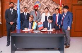 Монгол-Энэтхэгийн мэдээллийн технологийн боловсрол, аутсорсингийн төв байгуулах ажил эхэллээ