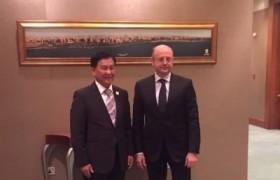 Бүгд Найрамдах Азербайжан Улсын Эрчим хүчний сайд Парвиз Шахбазовтай уулзлаа
