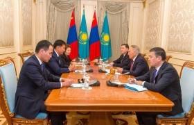 Казахстан Улсын Анхны Ерөнхийлөгч Елбасы, Үндэсний аюулгүй байдлын зөвлөлийн дарга Н.А.Назарбаевт бараалхав