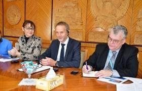 ДЭМБ-ын Номхон далайн баруун бүсийн Мэдээлэл, стратеги төлөвлөлт, инновацийн газрын захирал Д-р. Гундо Вейлер-ийг хүлээн авч уулзав