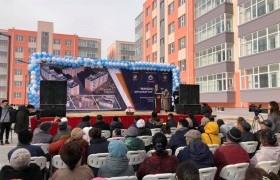 Сайншанд суманд Мандах-Наран 1060 айлын орон сууц бүрэн ашиглалтад орлоо