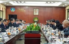 Монгол, Вьетнамын Засгийн газар хоорондын комиссын 17 дугаар хуралдаан Ханой хотноо хуралдаж байна