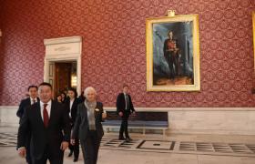 Монгол Улсын Ерөнхийлөгч Х.Баттулга Норвегийн Хаант Улсад айлчилж байна