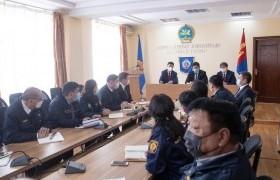 Монгол Улсын Ерөнхий сайд МХЕГ-ын улсын байцаагч нарт үүрэг өгөв