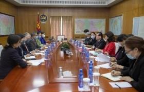 НҮБ-ын Суурин зохицуулагч, ДЭМБ-ын Суурин төлөөлөгчийг хүлээн авч уулзав