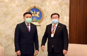 Хамтран ажиллах тухай Монгол Улсын Засгийн газар, Уур амьсгалын ногоон сан хоорондын хэлэлцээр соёрхон батлах тухай хуулийн төсөл