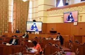 Монгол Улсын Их Хурлын чуулганы хуралдааны дэгийн тухай хуулийн төслийг хэлэлцлээ
