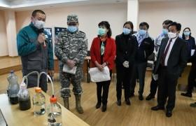 Улаанбаатар хотын Төв цэвэрлэх байгууламжийн үйл ажиллагаатай танилцлаа