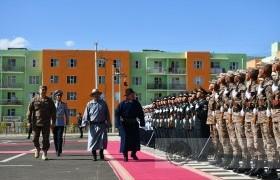 Монгол улсын ерөнхийлөгч Х.Баттулга, УИХ-ийн гишүүн Б.Дэлгэрсайхан, УИХ-ийн гишүүн Т.Энхтүвшин нар Дорноговь аймагт ажиллалаа