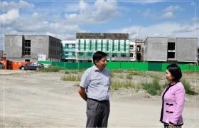 Баянзүрх дүүргийн 26 дугаар хороонд сургууль, цэцэрлэгийн барилгын ажлууд хийгдэж байна