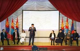 Монгол Улсын Ерөнхийлөгч Х.Баттулга Ховд аймагт ажиллалаа
