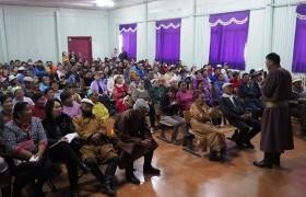 УИХ-ын гишүүн Л.Энх-Амгалан Хөвсгөл аймгийн Тосонцэнгэл, Түнэл сумын иргэдтэй уулзалт хийлээ