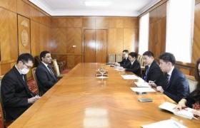 ЗГХЭГ-ын дарга Л.Оюун-Эрдэнэ Кувейтийн элчин сайдтай уулзлаа