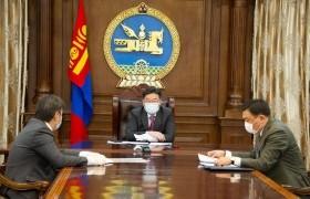 Монголбанкны ерөнхийлөгч болон Санхүүгийн зохицуулах хорооны даргад үүрэг чиглэл өглөө