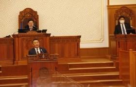 Монгол Улсын 31 дэх Ерөнхий сайд У.Хүрэлсүх өөрийн хүсэлтээр албан тушаалаа өглөө