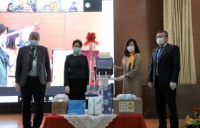 НҮБ-ын Хүн амын сангаас хувийн хамгаалах хувцас хэрэгсэл, амьсгалын аппарат өглөө