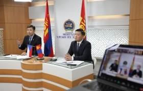 Монгол-Чехийн парламентын бүлгийн гишүүд цахим уулзалт хийлээ