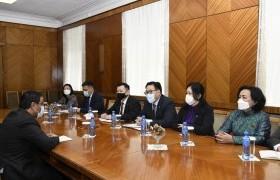 Монгол Улсад суугаа Онц бөгөөд Бүрэн эрхт Элчин сайд Мухаммед Аль-Мутайриг хүлээн авч уулзлаа