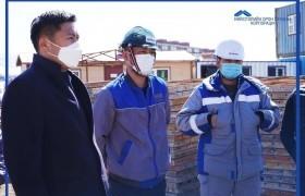 Ханын материал орчим 126 айлын түрээсийн орон сууцны барилгын ажил эхэллээ