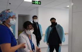 Шадар сайд СХД-ийн эмнэлэгт ажиллав