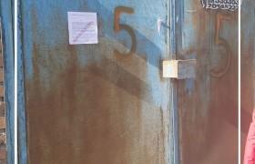 Нийтийн эзэмшлийн зам талбайд зөвшөөрөлгүй байрлуулсан гаражуудад мэдэгдэх хуудас өглөө