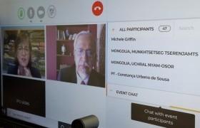 НҮБ-ын асуудлаарх байнгын хорооны хуралдаанд УИХ-ын гишүүн Н.Учрал, Ц.Мөнхцэцэг нар оролцов