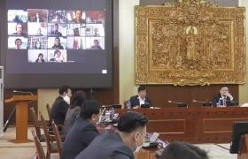 Монгол, Германы парламентын гишүүд хяналт шалгалтын чиглэлээр хэлэлцүүлэг хийлээ