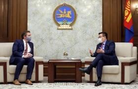 Улсын Их Хурлын дарга Г.Занданшатар Азийн сангийн Суурин төлөөлөгчийг хүлээн авч уулзав