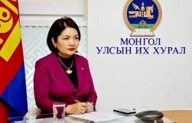 ОУПХ-ны Эмэгтэй парламентчдын форумын 31 дүгээр хуралдаанд Монгол Улсыг төлөөлж УИХ-ын гишүүн Б.Саранчимэг оролцлоо