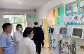 Т. Аубакир гишүүн Баян-Өлгий аймгийн нэгдсэн эмнэлэгт амьсгалын аппарат өглөө
