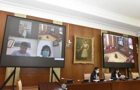 НББХ: Нийгмийн даатгалын тухай хуулиудыг хэрэглэх журмын тухай хуульд өөрчлөлт оруулах тухай хуулийн төслийн эцсийн хэлэлцүүлгийг хийв