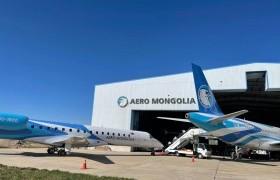 """Б.Бат-Эрдэнэ гишүүн """"Aero mongolia"""" компани """"Aerobus 319"""" шинэ агаарын хөлгийг хүлээн авах нээлтийн үйл ажиллагаанд оролцлоо"""