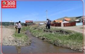Сонгинохайрхан дүүрэгт булаг, хөрсний ус ихээр нэвчин гарч буй хороодод үерийн далан барина