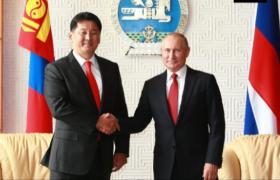 ОХУ-ын Ерөнхийлөгч Владимир Путин У.Хүрэлсүхэд баяр хүргэжээ